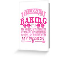 BAKING Greeting Card