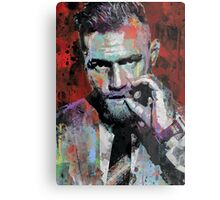 Conor McGregor, UFC Pop Art Portrait Metal Print