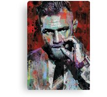 Conor McGregor, UFC Pop Art Portrait Canvas Print