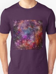 Galaxy - Under The Wing of The Small Megallenic Cloud - Watercolour Unisex T-Shirt