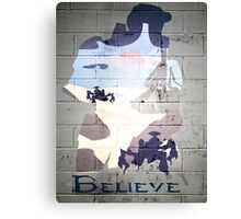 Halo; believe Canvas Print