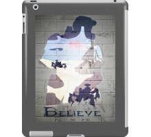 Halo; believe iPad Case/Skin