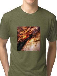 GALAXY - Nucleus of Galaxy Centaurus A Tri-blend T-Shirt