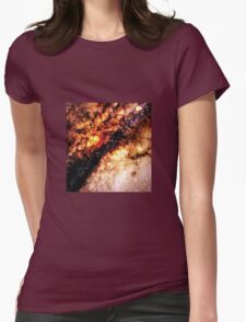 GALAXY - Nucleus of Galaxy Centaurus A Womens Fitted T-Shirt