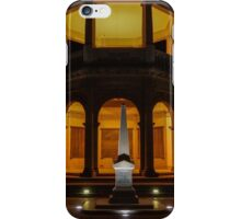 Night time at the Soldiers Memorial Institute, Bendigo iPhone Case/Skin