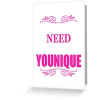YOUNIQUE Greeting Card