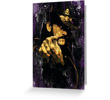 "Lemmy Kilmister ""Whiskey & Smoke"" Greeting Card"