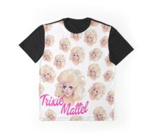 Trixie-All over print Graphic T-Shirt