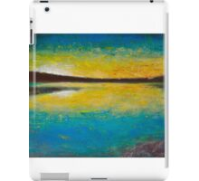Yellow horizon iPad Case/Skin