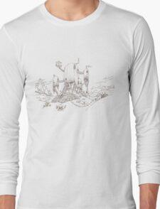 Adventure Time Treehouse Long Sleeve T-Shirt