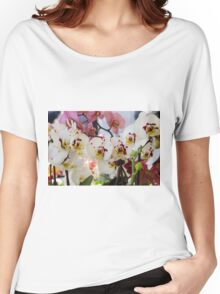 orchid bloom Women's Relaxed Fit T-Shirt