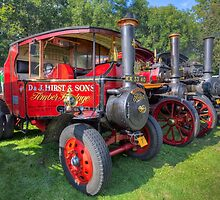 Steam Engines by manateevoyager