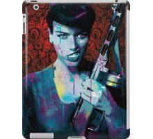 "Retro Rockabilly Pinup ""Tammy Gunn"" iPad Case/Skin"