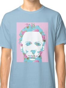 Halloween Floral Michael Myers Classic T-Shirt