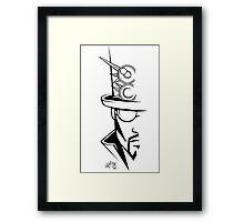 The Hatter Framed Print
