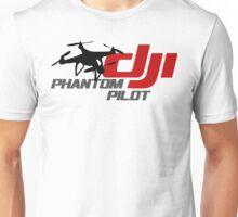 DJI Phantom Pilot UAV Drone white Unisex T-Shirt