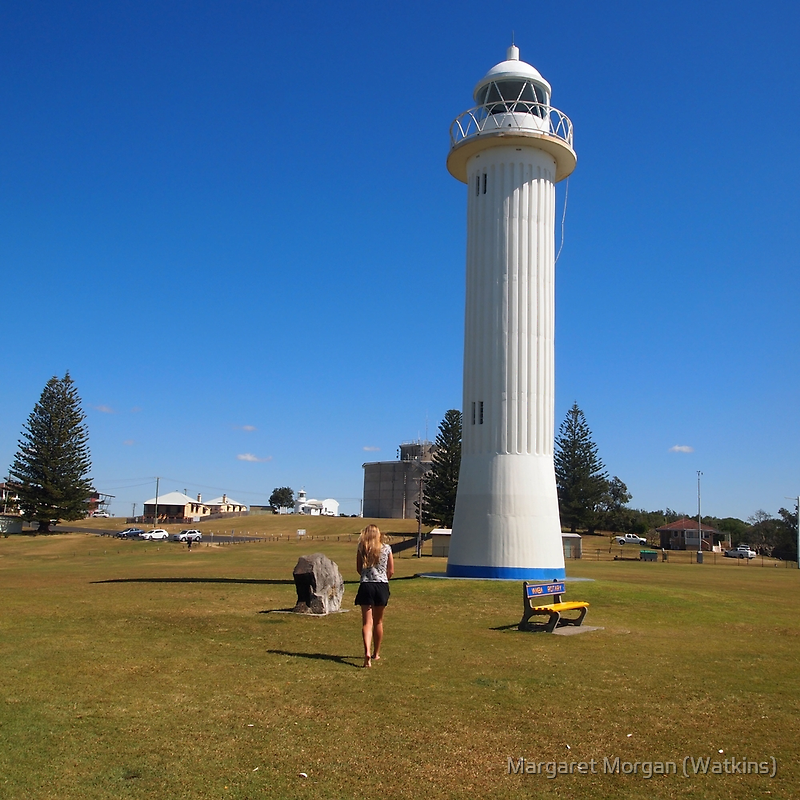 The Lighthouse, Yamba, NSW, Australia by Margaret Morgan (Watkins)