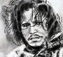 kit harington... pencil by danijelg