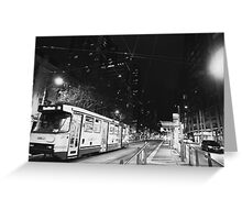 Tram- Melbourne Greeting Card