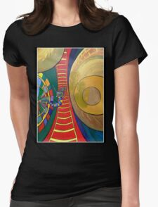 .The Other Side. Womens Fitted T-Shirt