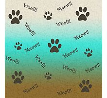 Pet Lovers Photographic Print
