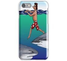 Chickens and Sharks iPhone Case/Skin