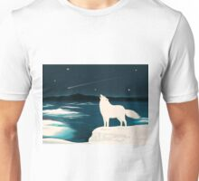 The White Wolf Calls Unisex T-Shirt