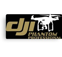 DJI Phantom Pilot UAV Drone Phantom Professional Canvas Print