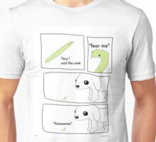 Fear Me - A Tiny Snek Comic Unisex T-Shirt