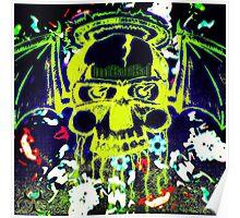 Halo SkullBat Poster