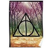 Mystic triangle tree alley Poster