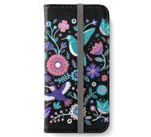 hummingbird garden 1 iPhone Wallet/Case/Skin