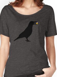 Halloween Crow Women's Relaxed Fit T-Shirt