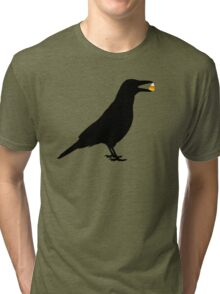 Halloween Crow Tri-blend T-Shirt