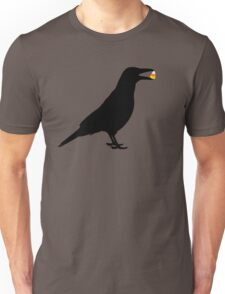 Halloween Crow Unisex T-Shirt
