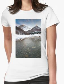 River Veral in Zuriza Womens Fitted T-Shirt