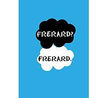 Frerard - TFIOS Photographic Print