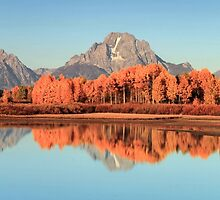 Oxbow Autumn by Ann  Van Breemen