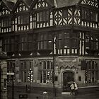 Rainy Day, Chester, England #2 by Elaine Teague