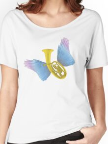 Winged Music Women's Relaxed Fit T-Shirt
