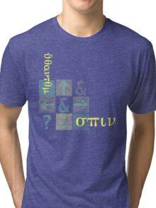 Quantum spin Tri-blend T-Shirt