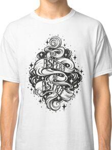 Per Aspera Ad Astra Latin phrase Classic T-Shirt