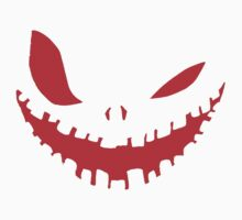 Scary Devil Face for Halloween Kids Tee