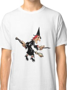 Witch on a Broom #2 Classic T-Shirt
