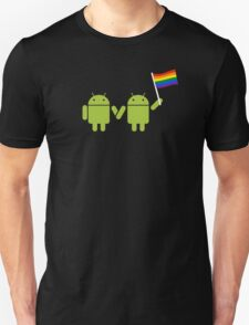 Google Android Pride Unisex T-Shirt