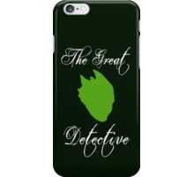 The Great Detective iPhone Case/Skin