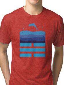 CHING: Kan, The Water Tri-blend T-Shirt