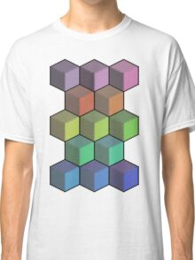 Colorful Cube Cascade! Classic T-Shirt