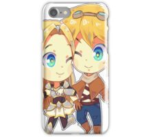 Lux & ezreal love.  iPhone Case/Skin