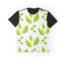 light and dark green acute leaves Graphic T-Shirt